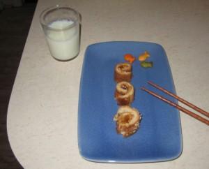 """PB&J """"sushi"""""""