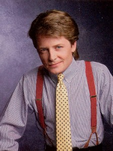 "Alex P. Keaton from ""Family Ties"""