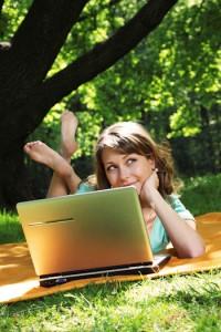 al fresco blogging