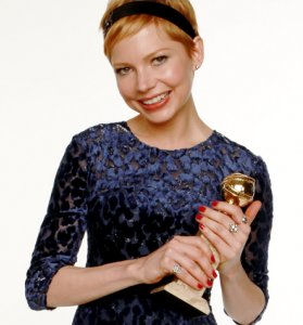 Michelle Williams, 2012 Golden Globe winner