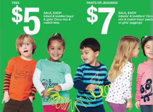 boy with Down's models for Target