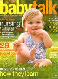 Babytalk magazine cover