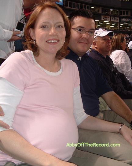 Me, big & pregnant in May 2006