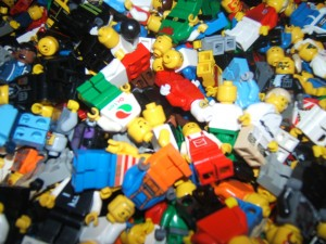 A whole mess o' Legos
