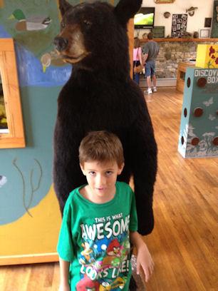 Big dead stuffed bear