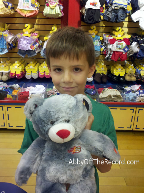First visit to Build-a-Bear Workshop