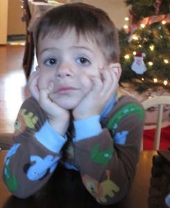 Miles, age 3