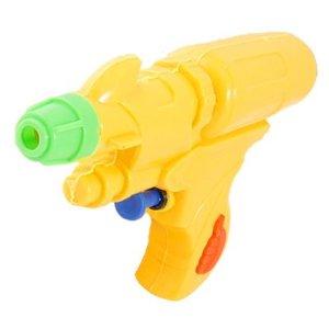yellow plastic squirt gun