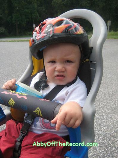 baby on a bike