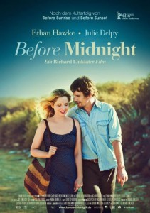 Before Midnight, a movie starring Ethan Hawke and Julie Delpy
