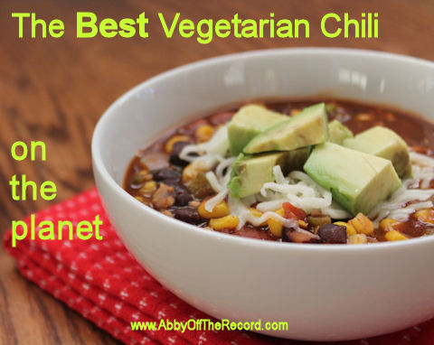 The Best Vegetarian Chili recipe on the planet