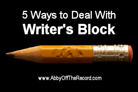 5 ways to deal with writer's block