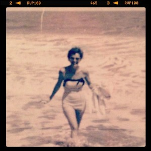 My grandmother, Sea Island, CA, 1958