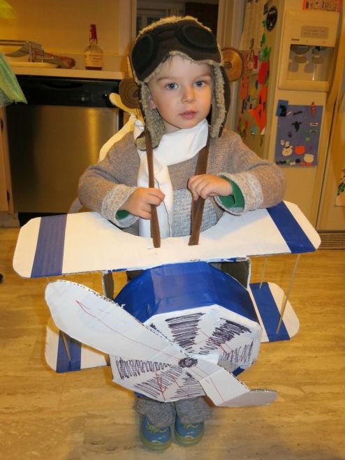 flying sock monkey costume