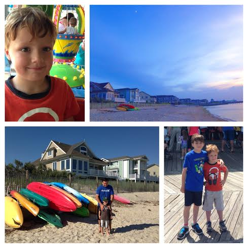 a collage made with the Pic Stitch app