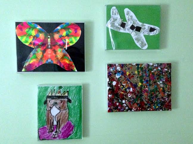 some of my kids' artwork