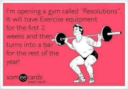 funny ecard about the gym