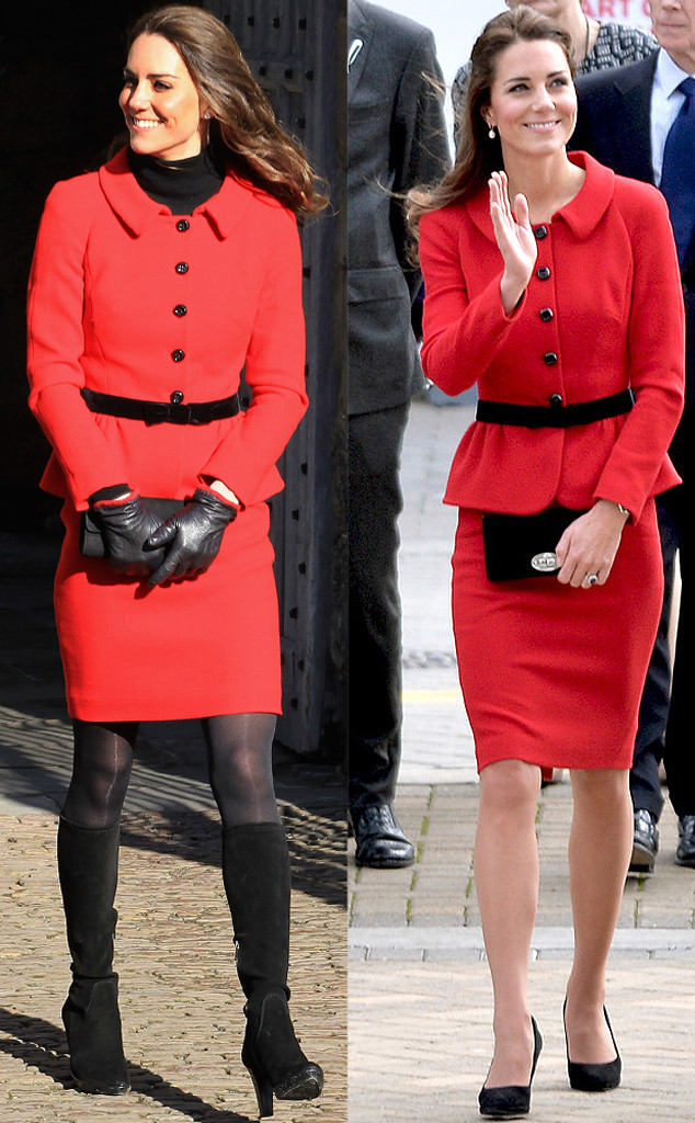 If Kate Middleton can recycle her outfits, so can I