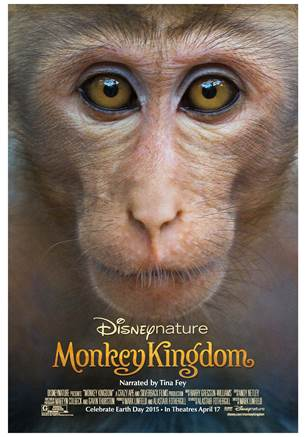 Disneynature's Monkey Kingdom movie