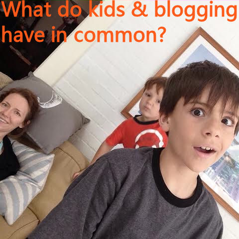 What do kids and blogging have in common?