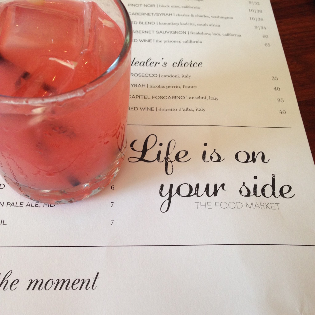 Date night, pink drink, life is on your side, #moregoodlessgrind