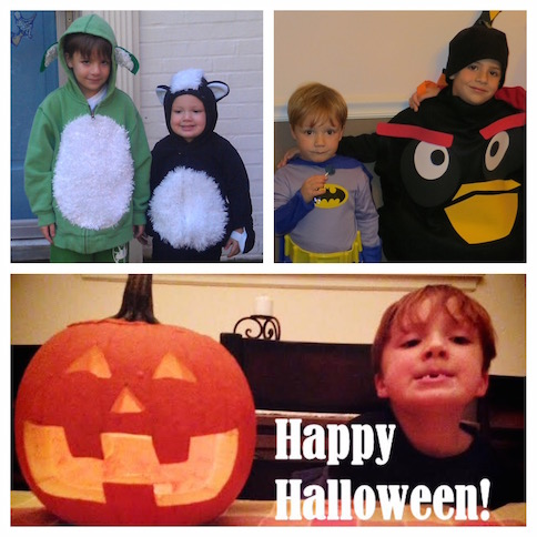 Halloween through the years