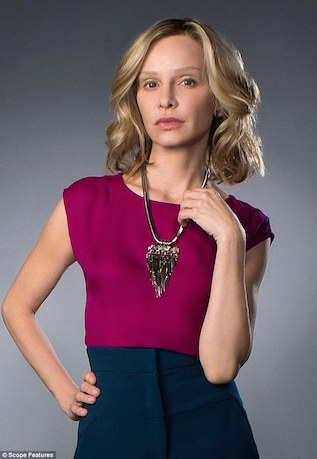 "Calista Flockhart in ""Supergirl"" on CBS"