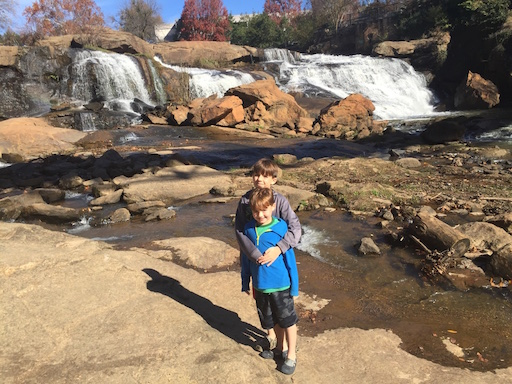Falls Park in Greenville SC