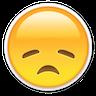Bummed Emoji